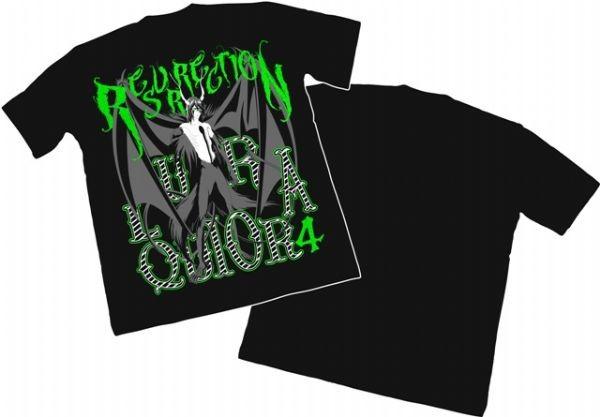 Camisa Bleach - Ulquiorra Resurrection - Modelo 04