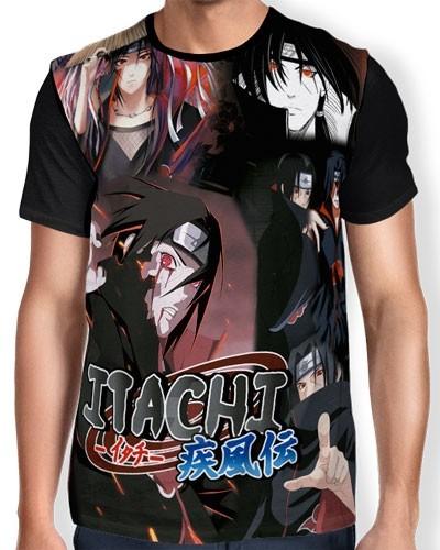 Camisa FULL itachi - Naruto