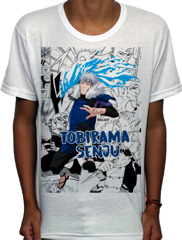 Camisa SB - TN Mangá Tobirama - Naruto