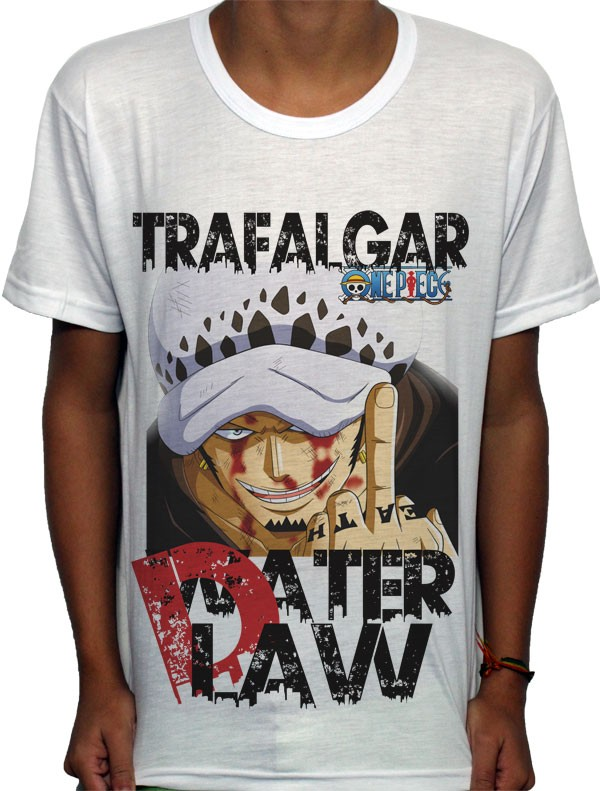 Camisa SB Trafalgar D. Water  - One Piece
