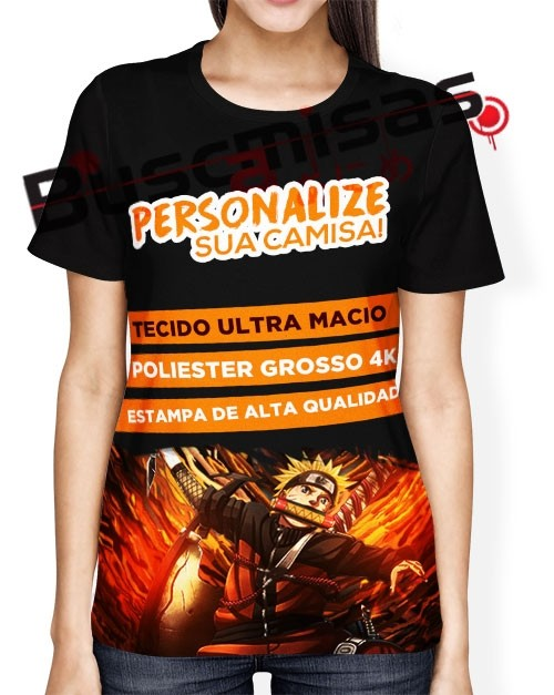 Camisa Full - Personalize a sua - Feminina