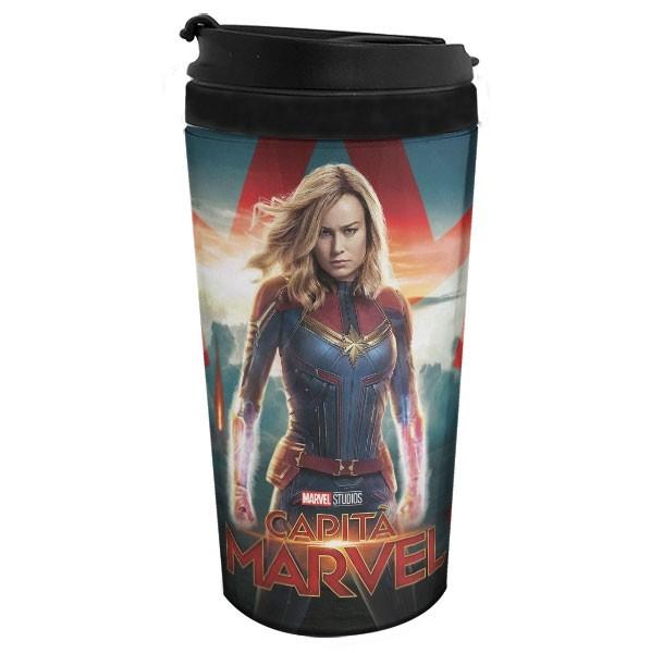 Copo Térmico Capitã Marvel
