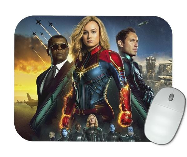 Mouse Pad - Capitã Marvel