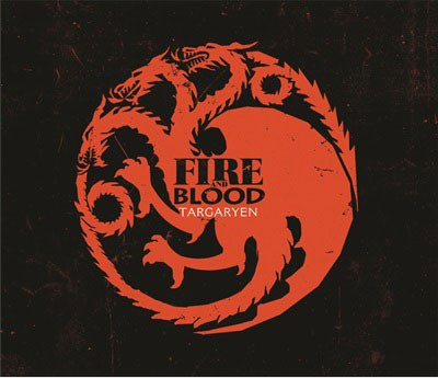 Mouse Pad - House Targaryen - Game Of Thrones