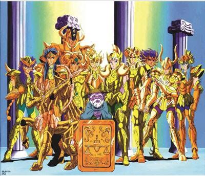 Mouse Pad - Cavaleiros de Ouro - CDZ