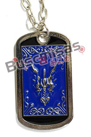 CDZ-12 - Colar Dog Tag Shiryu