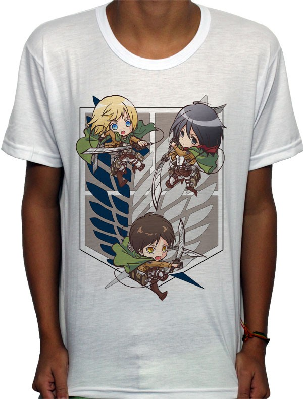 Camisa SB - Chibi Recon - Attack on Titan