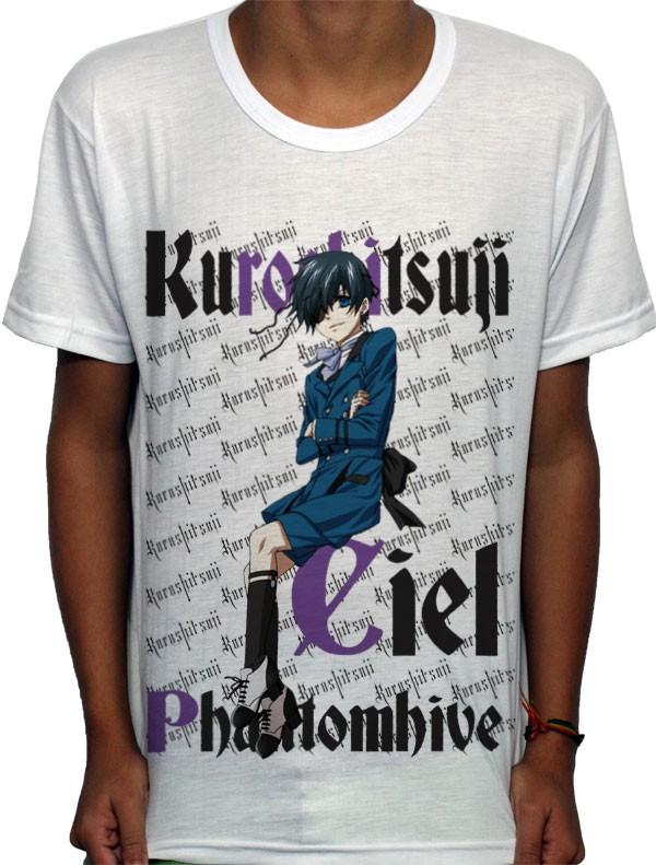 Camisa SB Ciel Phantomhive - Kuroshitsuji