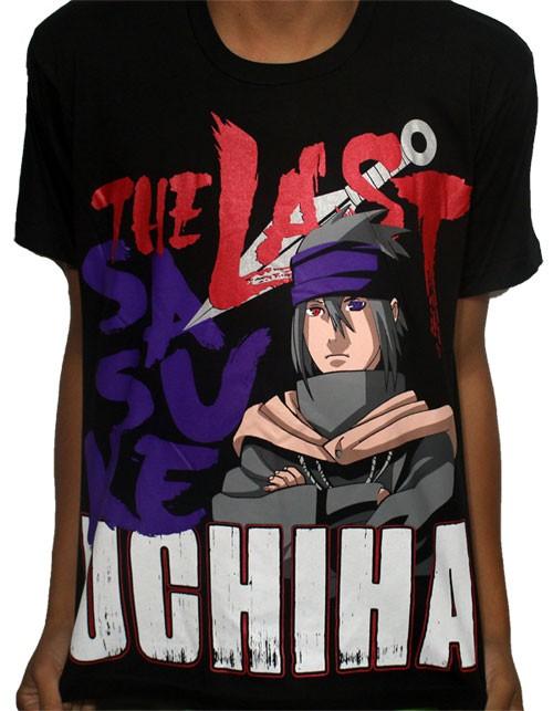 Camisa The Last Sasuke - Naruto