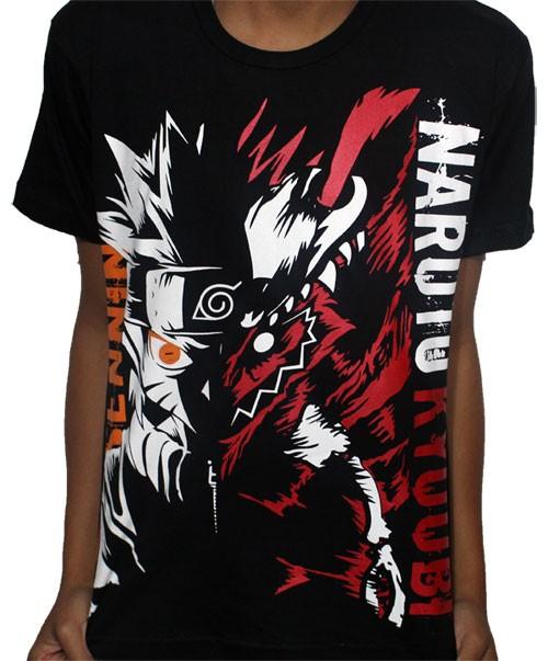 Camisa Sennin Naruto Kyuubi - Naruto
