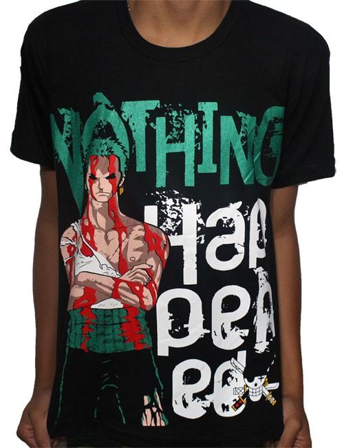Camisa Nothing Zoro - One Piece