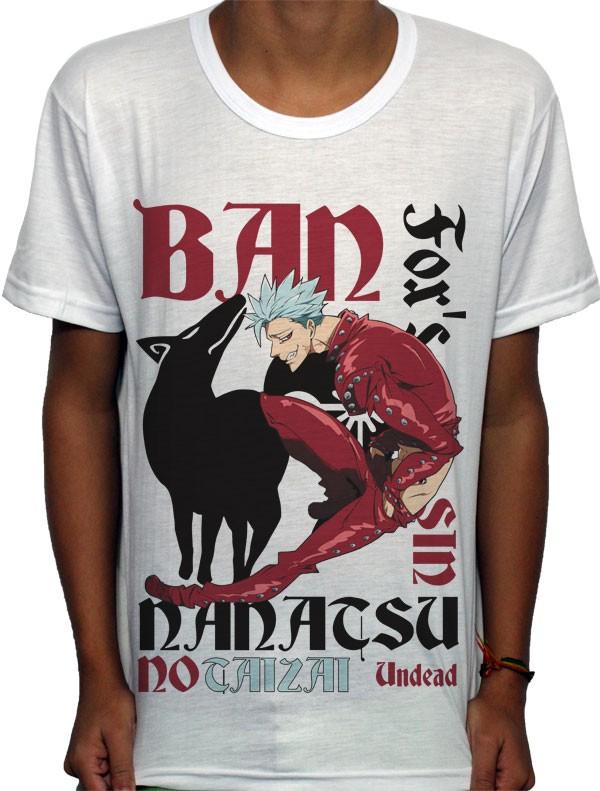 Camisa SB Ban - Nanatsu no Taizai