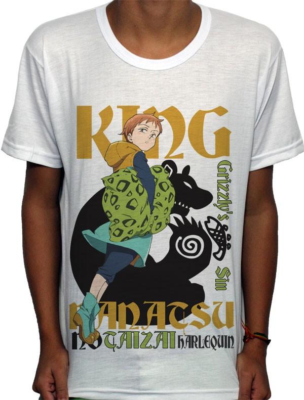 Camisa SB King - Nanatsu no Taizai