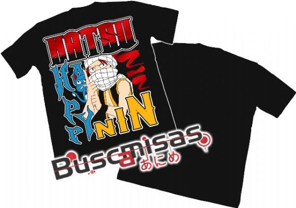 Camisa Fairy Tail - Natsu NinNin - Modelo 04