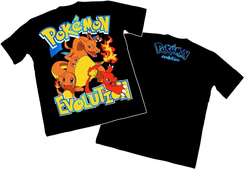Camisa Pokemon - Charmander
