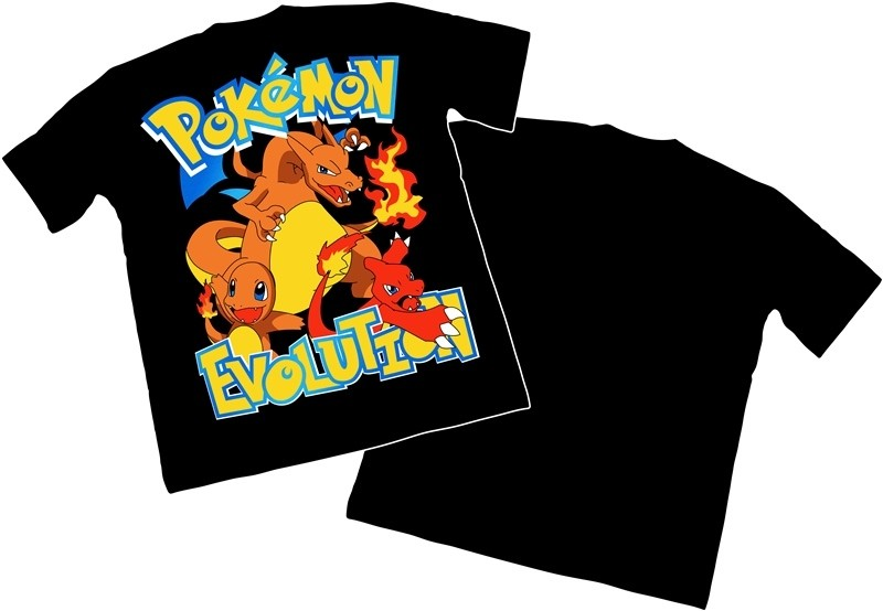 Camisa Pokemon - Charmander - Modelo 04