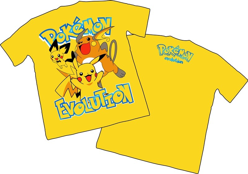 Camisa Pokemon - Pikachu