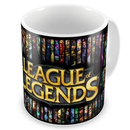 CNLOL-05- Caneca LOL Logo - League Of Legends