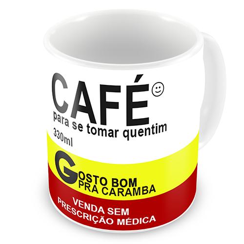 CNZOA-01- Caneca REMÉDIO CAFÉ