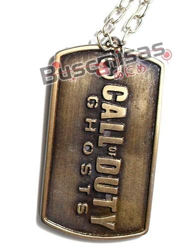 COD-02 - Colar Dog Tag Call of Duty