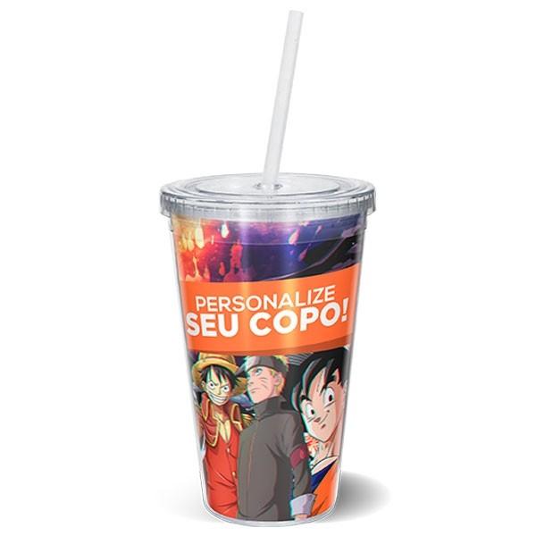 COPER-01 -  Copo de Acrilico - Personalize o seu