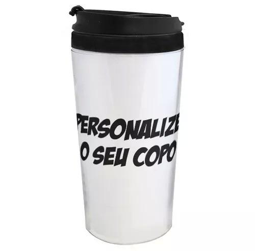 Copo Térmico - PERSONALIZE O SEU
