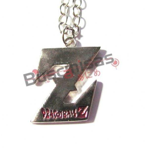 DBZ-04 - Colar Símbolo Z - Letras Vermelhas