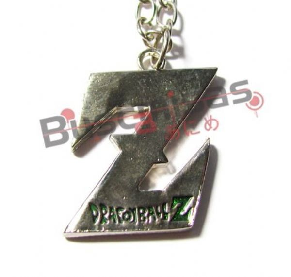 DBZ-05 - Colar Símbolo Z - Letras Verdes