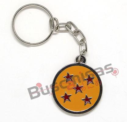 DBZ-12(CH) - Chaveiro Esfera do Dragão de 5 Estrelas - Dragon Ball