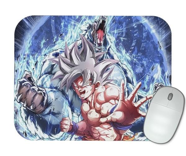 Mouse Pad - Goku Instinto Superior Perfeito - Dragon Ball Super