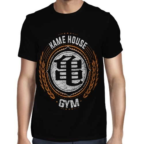 Camisa Full Kame House Gym - Só Frente - Dragon Ball