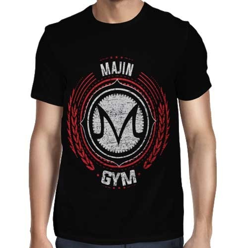 Camisa Full Majin Gym - Só Frente - Dragon Ball