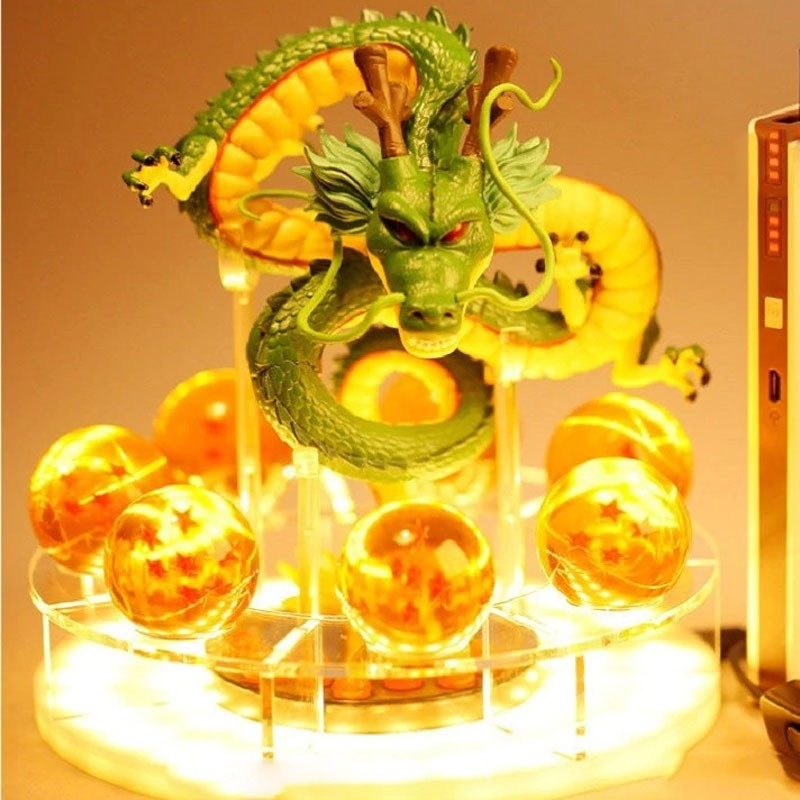Luminária Action Figure Shenlong com Esferas - Dragon Ball