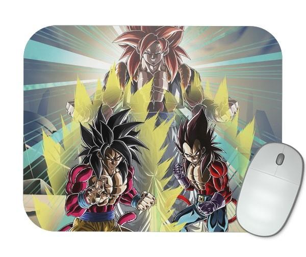 Mouse Pad - SSJ4 Goku e Vegeta - Dragon Ball GT