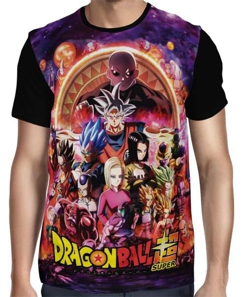 Camisa Full Torneio do Poder - Dragon Ball Super
