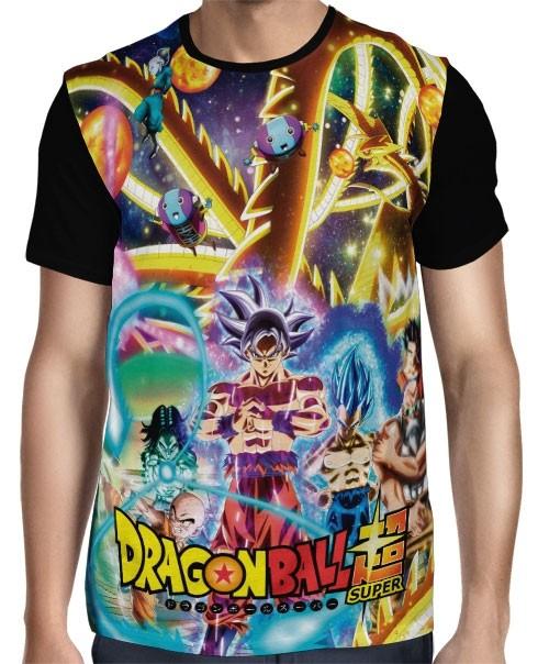 Camisa Full Torneio do Poder Modelo 2 - Dragon Ball Super