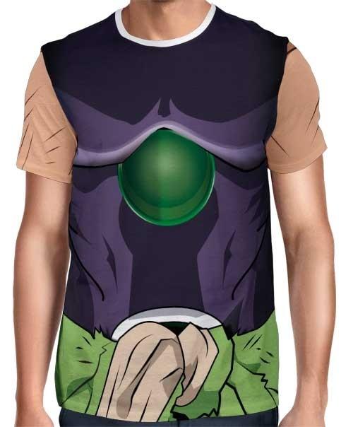 Camisa Full Print Uniforme - Broly Filme - Dragon Ball Super