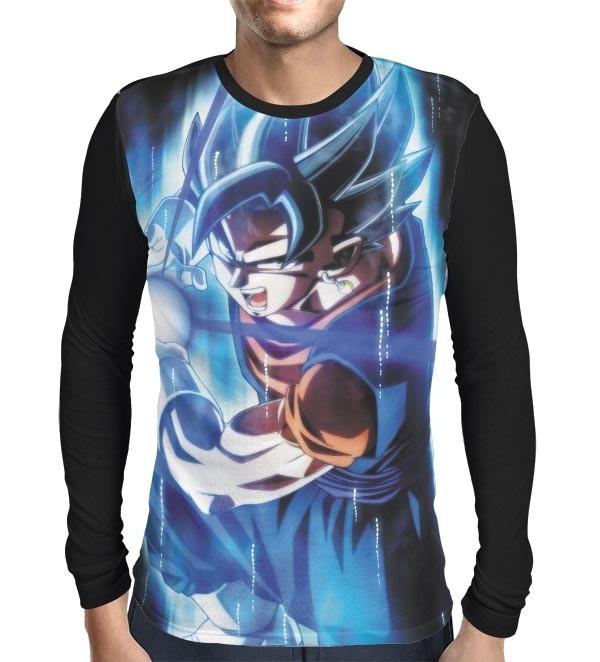 Camisa Manga Longa Vegetto Instinto Superior - Dragon Ball Super