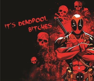 Mouse Pad - It's DeadPool, Bitches!
