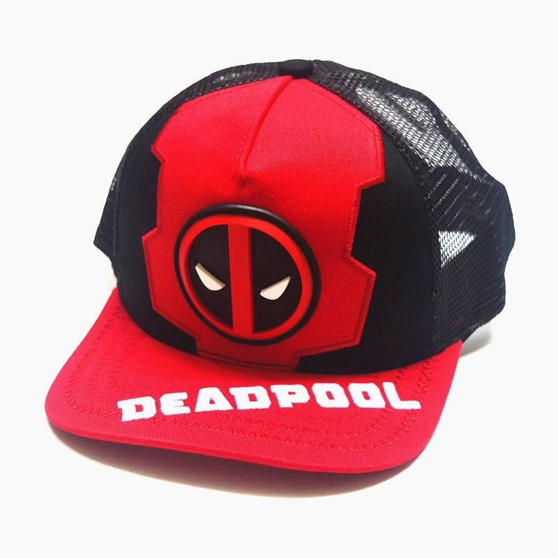 Boné Trucker Premium Deadpool