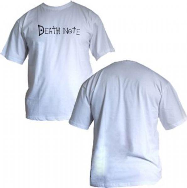 Camisa Death Note - Logo - Modelo 01