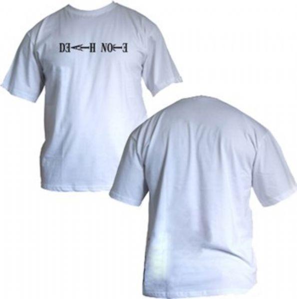 Camisa Death Note - Logo - Modelo 03