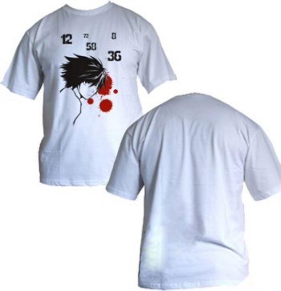 Camisa Death Note - L - Modelo 3