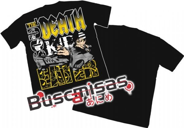 Camisa Soul Eater - Death the Kid - modelo 04