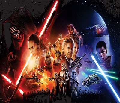 Mouse Pad - O Despertar da Força - Star Wars
