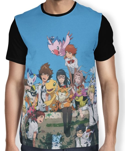 Camisa FULL Digimon Adventure Tri