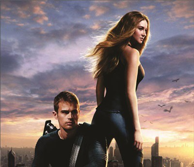 Mouse Pad - Poster - Divergente