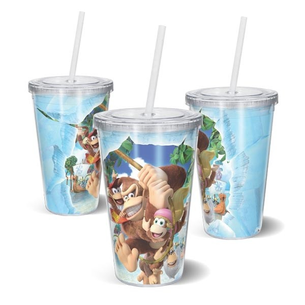 Copo Acrilico Donkey Kong Country: Tropical Freeze