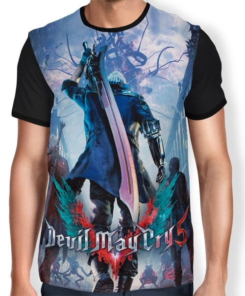 Camisa Full Devil May Cry 5