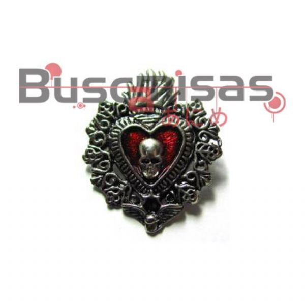 DN-28 - Broche :Shinigami Heart